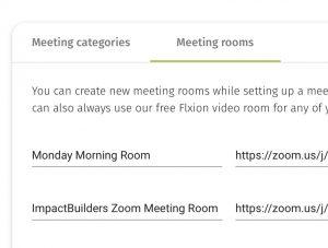 Flxi 20210423 Setup Rooms